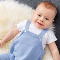 A3006G Knitted Dungaree